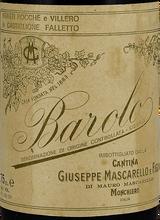 Giuseppe Mascarello Barolo 1961 750ml