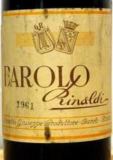 Giuseppe Rinaldi Barolo 1961 750ml