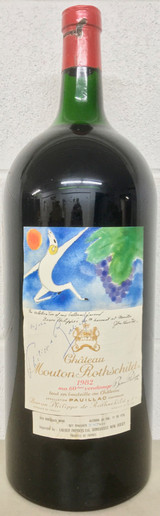 Mouton Rothschild 1982 5000ml (Autographed by Baron Philippe)