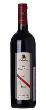 D'Arenberg The Dead Arm Shiraz McLaren Vale 2003 750ml