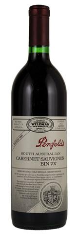 Penfolds Bin 707 Cabernet Sauvignon South Australia 1986 750ml