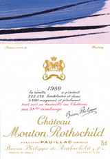 Mouton Rothschild 1980 750ml