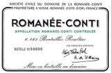 Domaine de la Romanee-Conti Romanee-Conti Grand Cru 2015 750ml