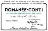 Domaine de la Romanee-Conti Romanee-Conti Grand Cru 2017 750ml