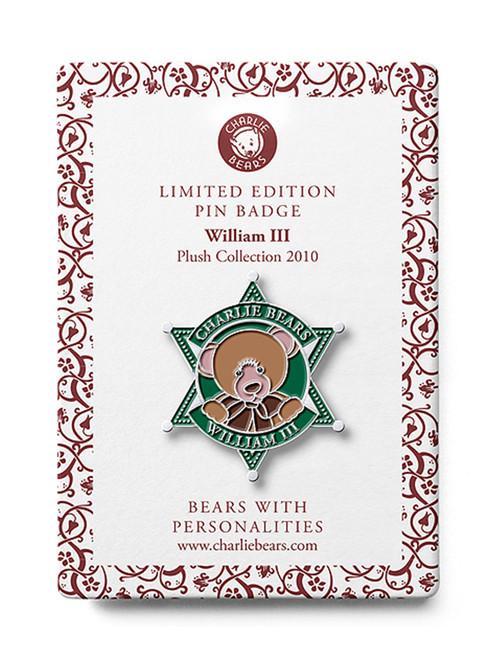 Pin Badge William III