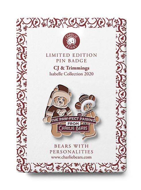 Pin Badge CJ Trimmings