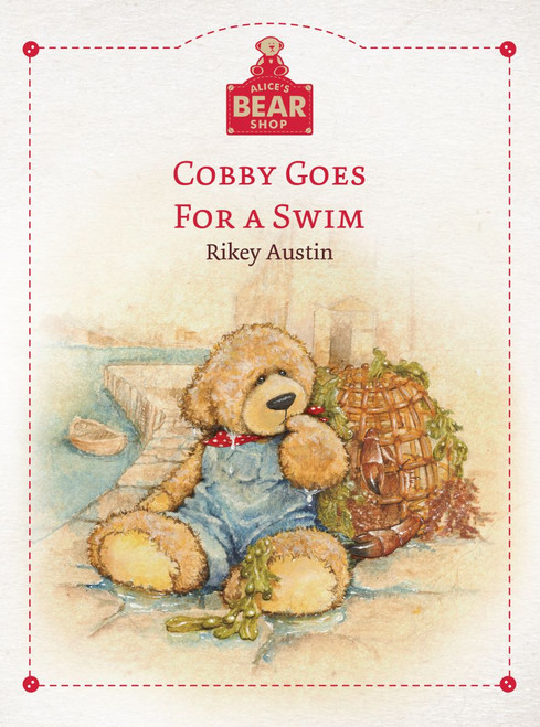Alice's Bear Shop - Cobby Goes for a Swim Book