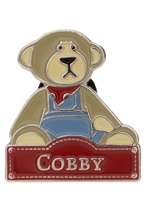Alice's Bear Shop - Cobby pin badge
