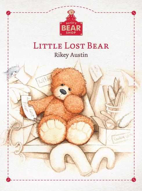 Alice's Bear Shop - Little Lost Bear Book