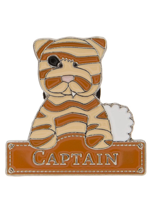 Alice's Bear Shop - Pin badge Captain