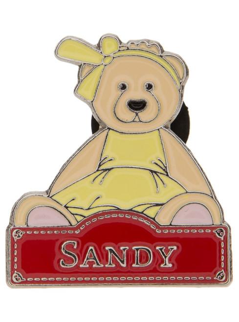 Alice's Bear Shop - Sandy pin badge