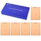 CHUSE 5pcs Microblading Practice Skin 3D Face Cosmetic Permanent Makeup Tattoo Training Sheet 15.2 x 21cm