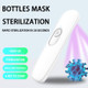 UV Light Sanitizer, Ultraviolet Disinfection lamp Portable uv sanitizer Wand Without Chemicals for Hotel Household Wardrobe Toilet Car Pet Area,Germ-Killing Function