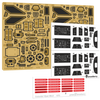 Green Strawberry 1/72 Colonial Viper Mk2 Photoetch Set For Moebius Kit