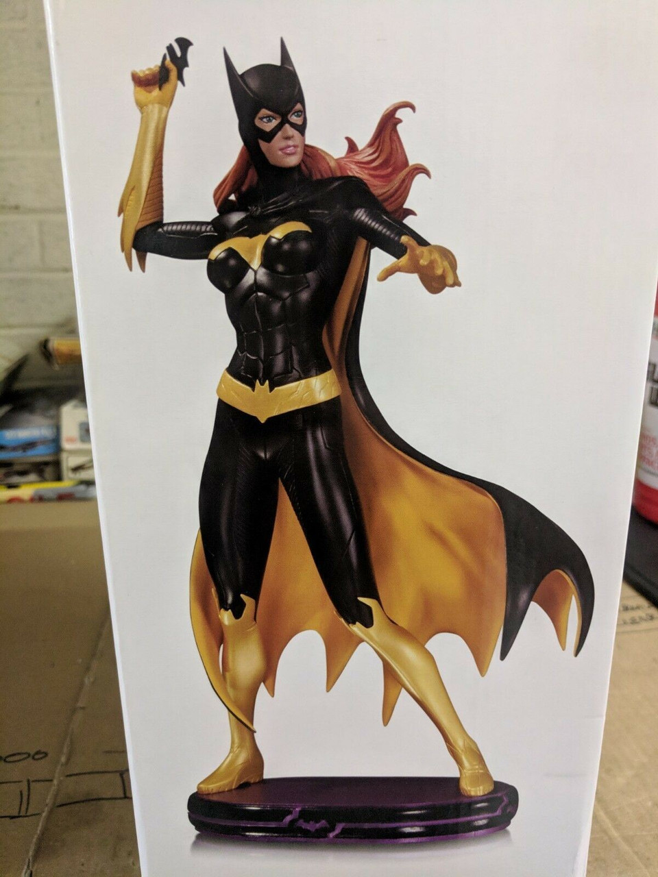 RARE OOP DC Heroes Cover Girls Comics Batgirl Statue Limited Edition 1258 / 5200