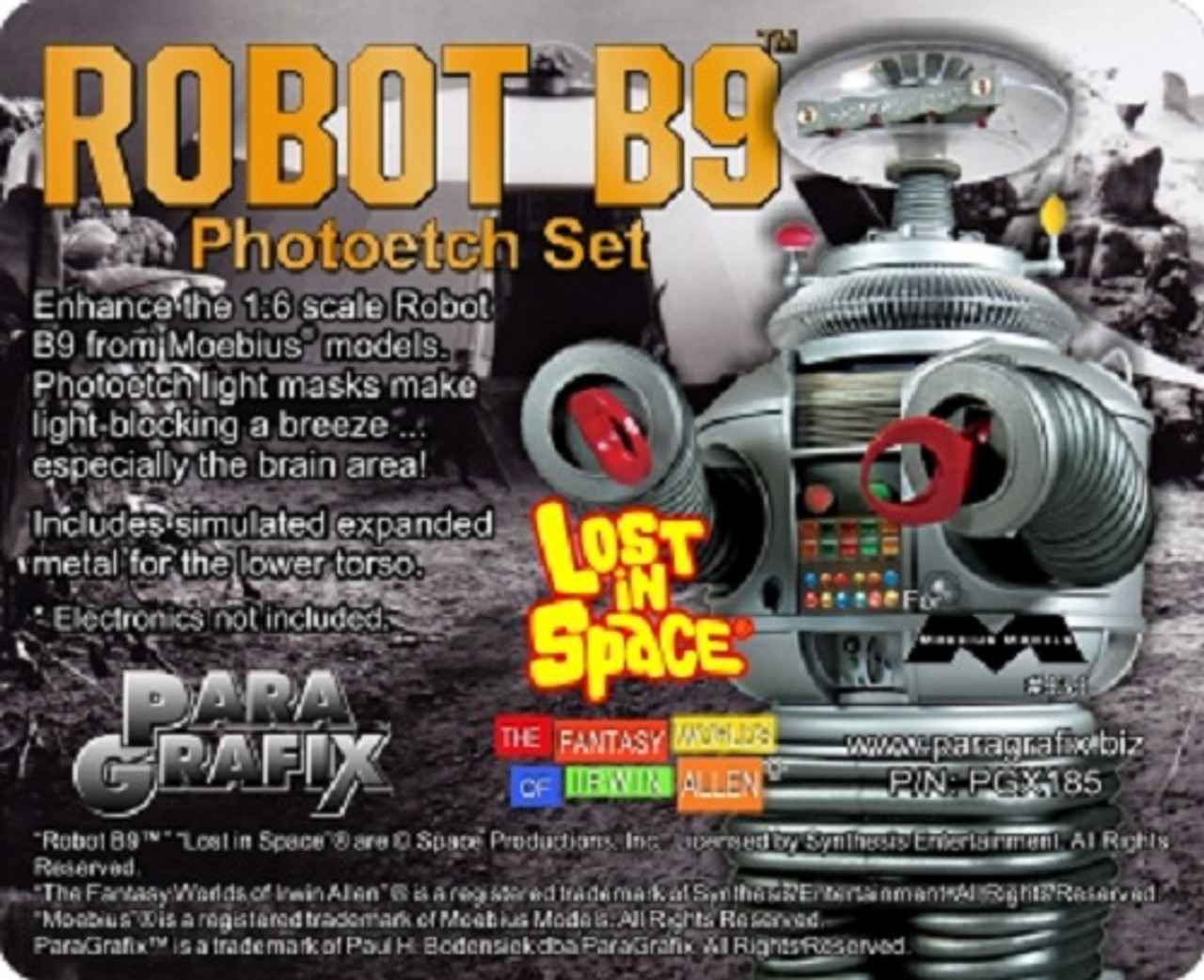 MOEBIUS  1//6 Lost in Space Complete Head Upgrade Kit w//Glass Dome MOE948-NEW