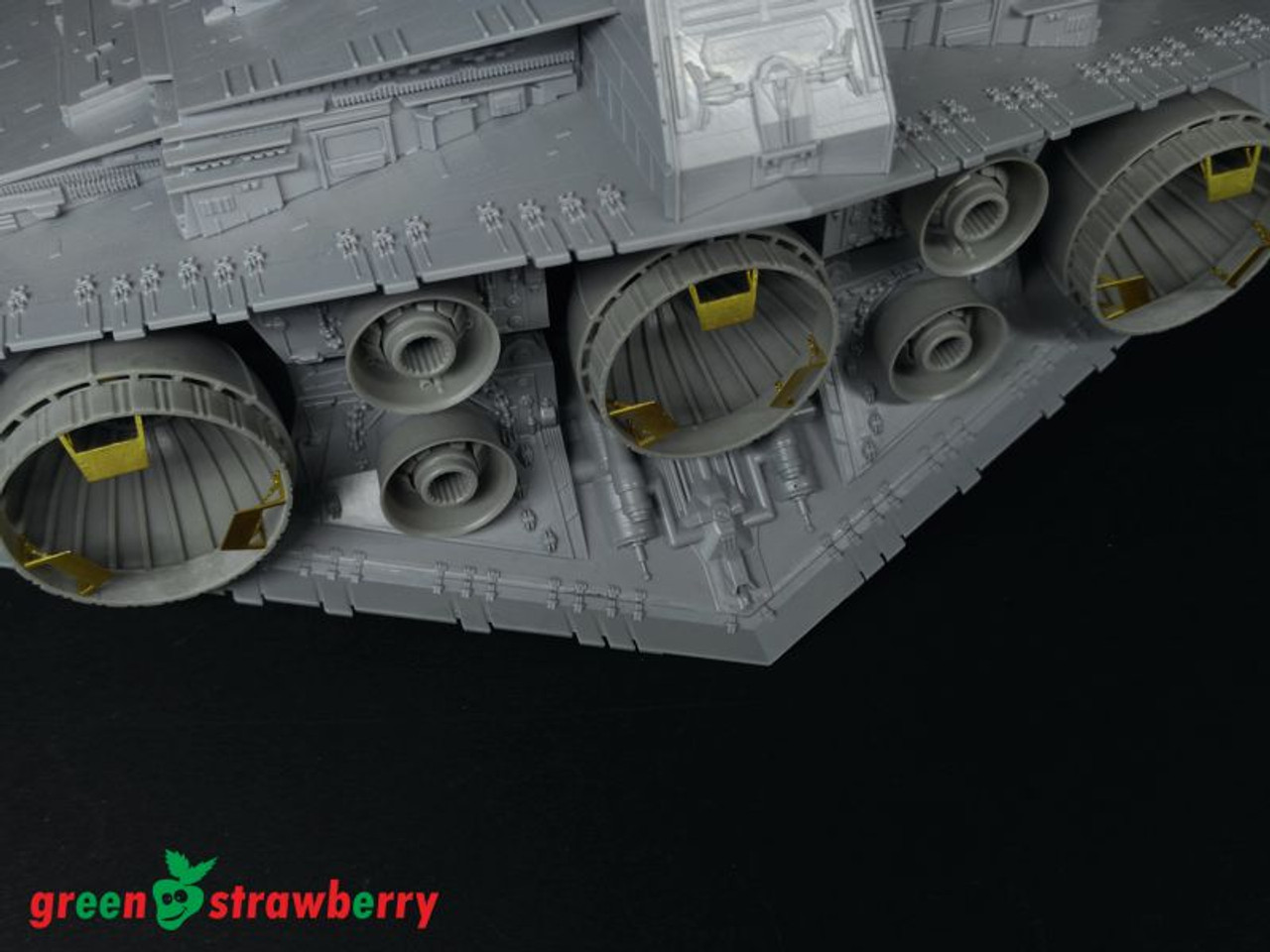 Green Strawberry 1/2700 Star Destroyer -Engines Bells Detailing Set