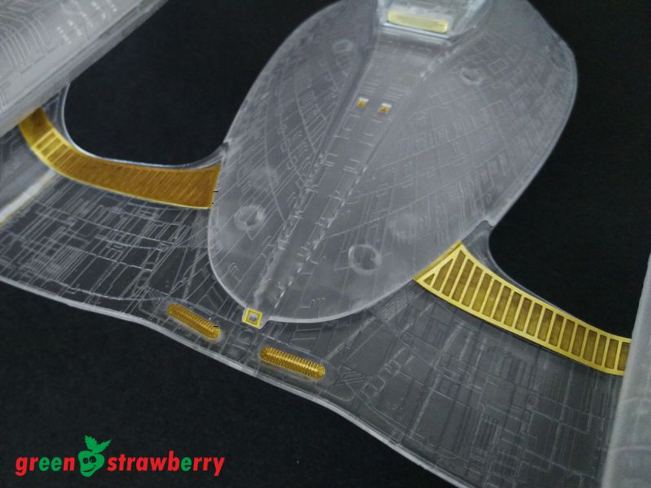 Green Strawberry 1/1400 U.S.S. Enterprise NCC-1701-D Photoetch Detailing Set