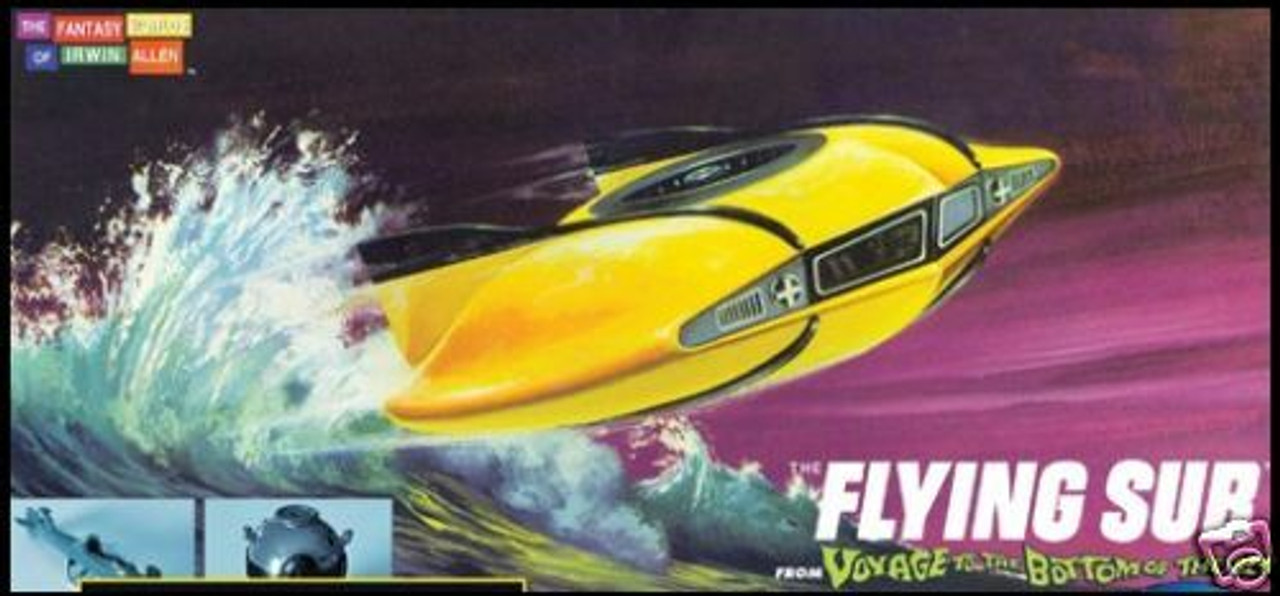 Moebius 101 - Voyage to the Bottom of the Sea Mini Flying Sub
