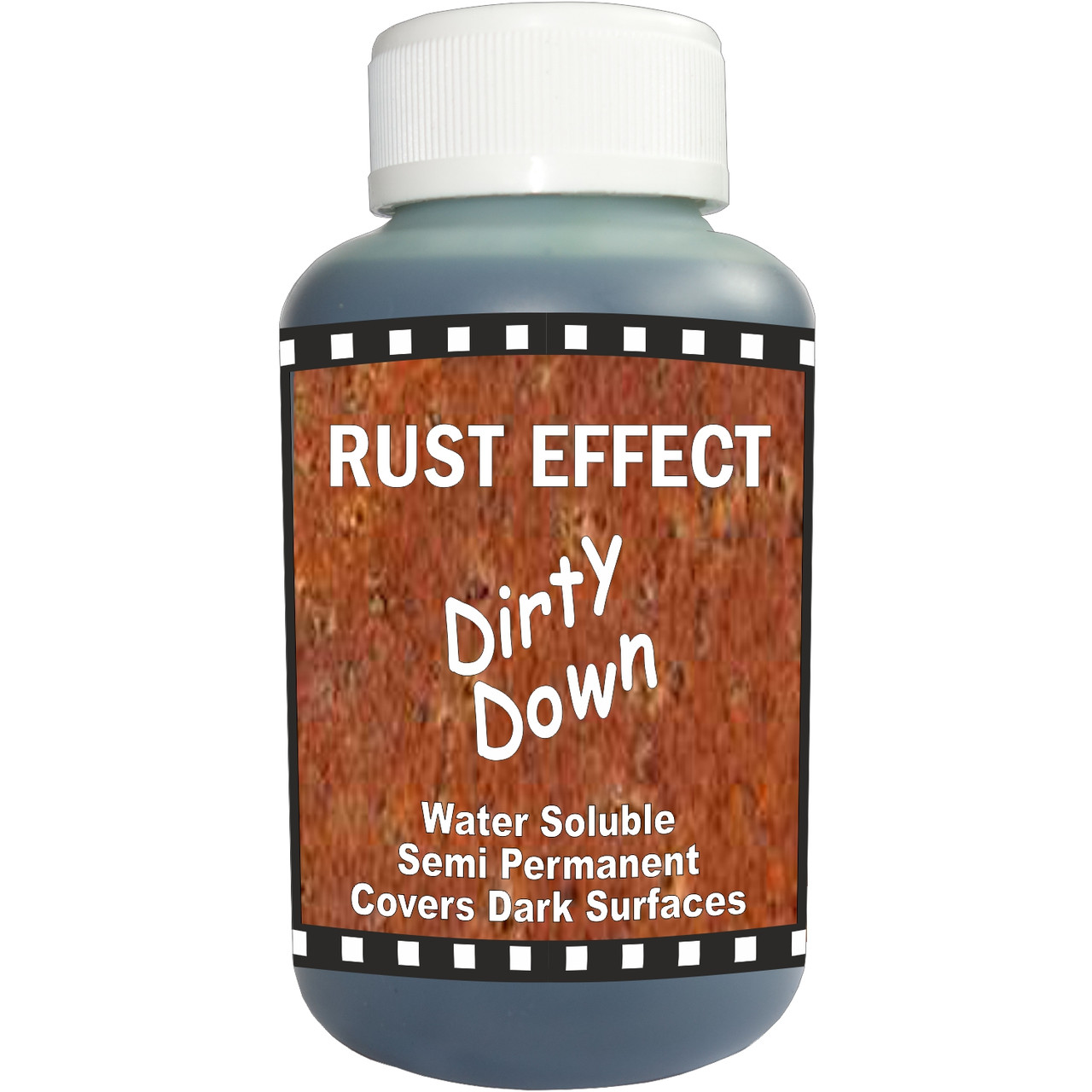 Dirty Down Rust Effect Water Soluble Paint - Large 250ml Pot