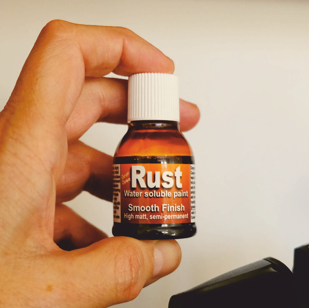 Dirty Down Rust Effect Water Soluble Paint - 25ml Pot