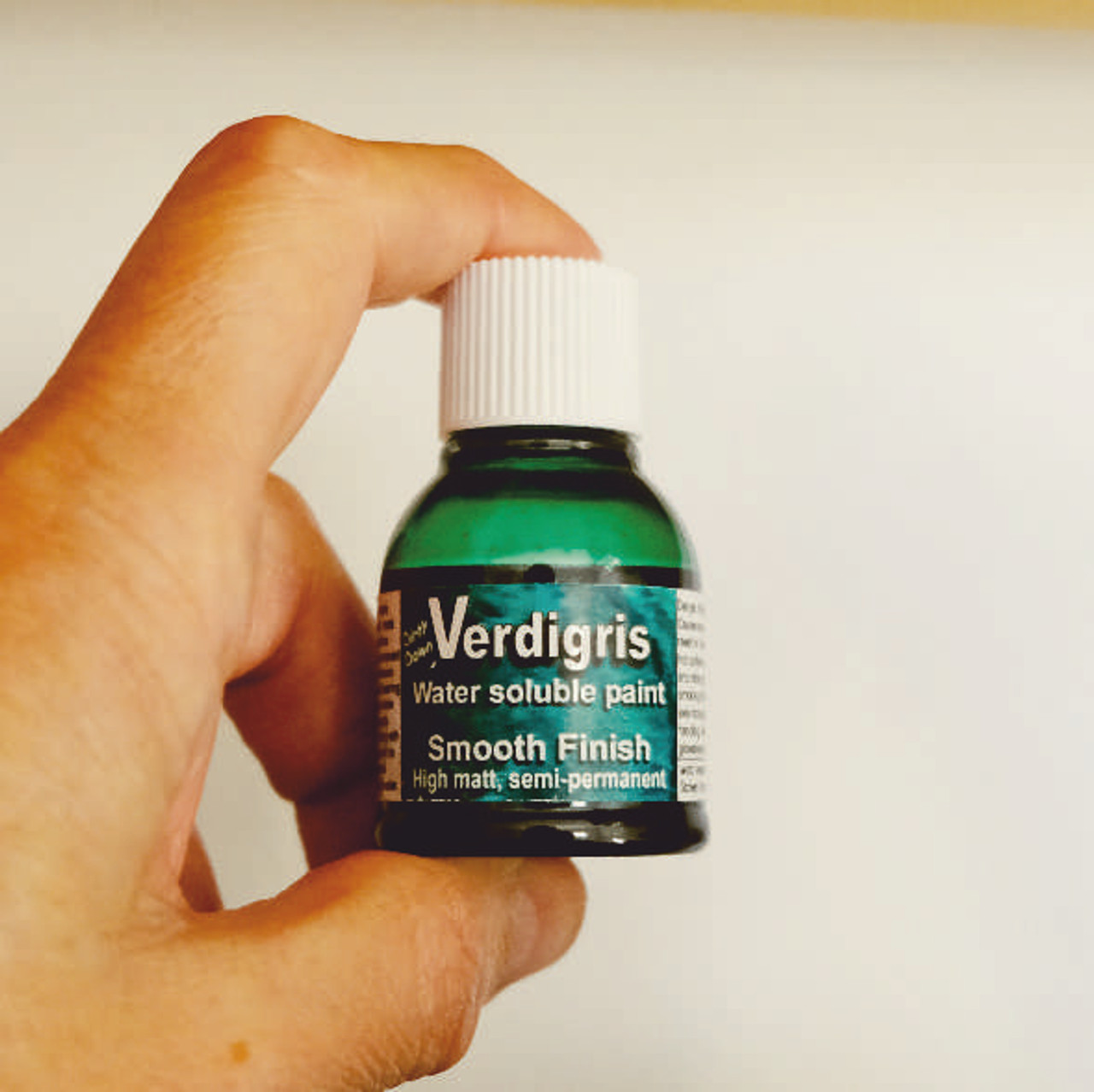 Dirty Down Verdigris (Copper Patina) Effect Water Soluble Paint - 25ml Pot