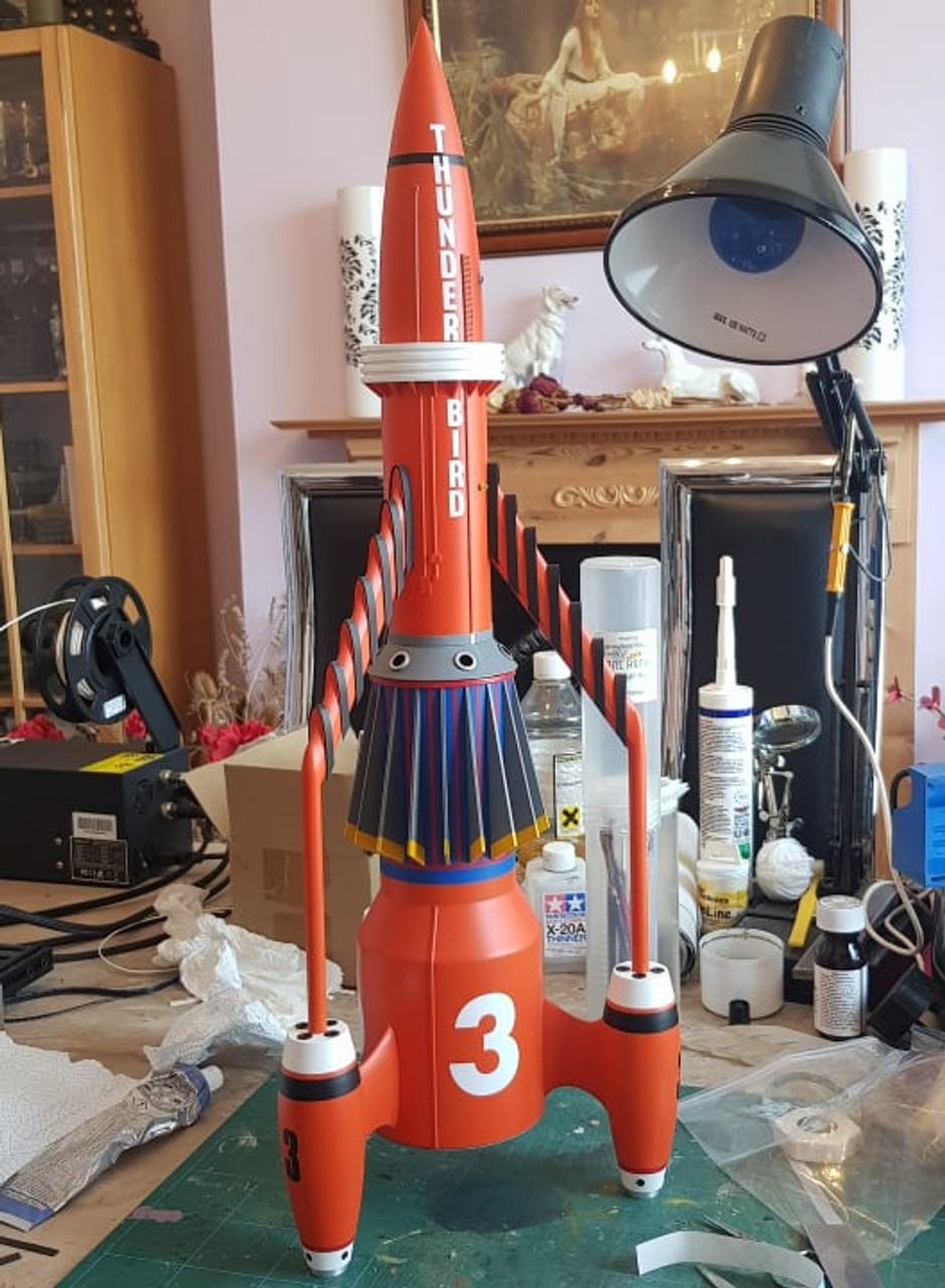The finished model built by Paul Harrison