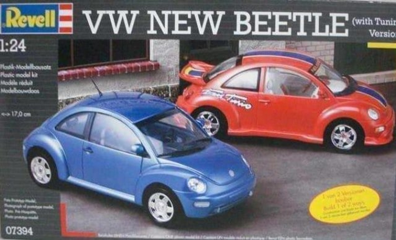 Revell 07394 1:24 VW New Beetle (With Tuning Version)