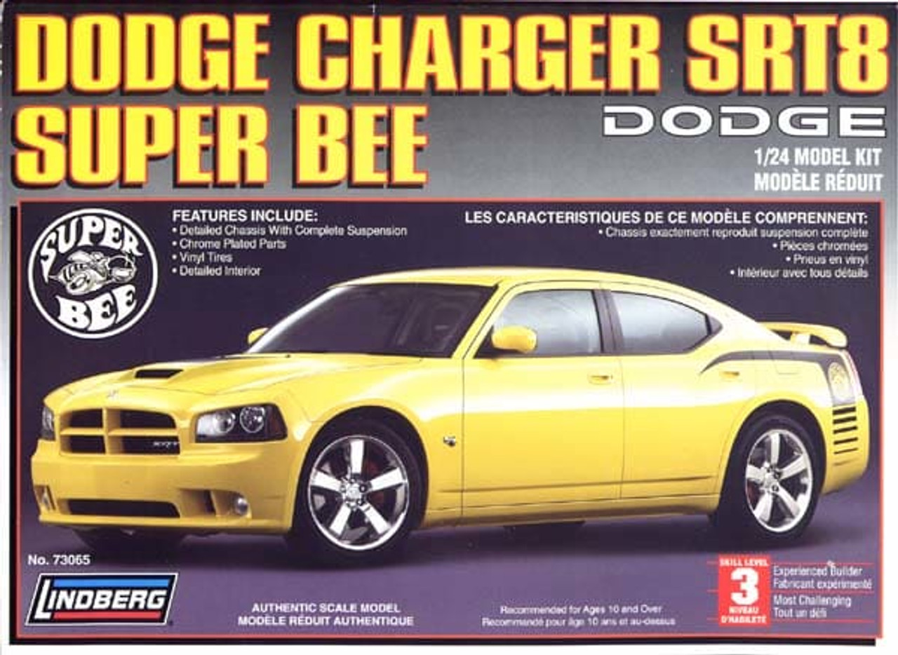 Lindberg 73065 - 1:24 Dodge Charger SRT8 Super Bee