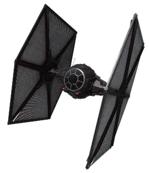 1/72 First Order TIE Fighter - MASK For Bandai Kit
