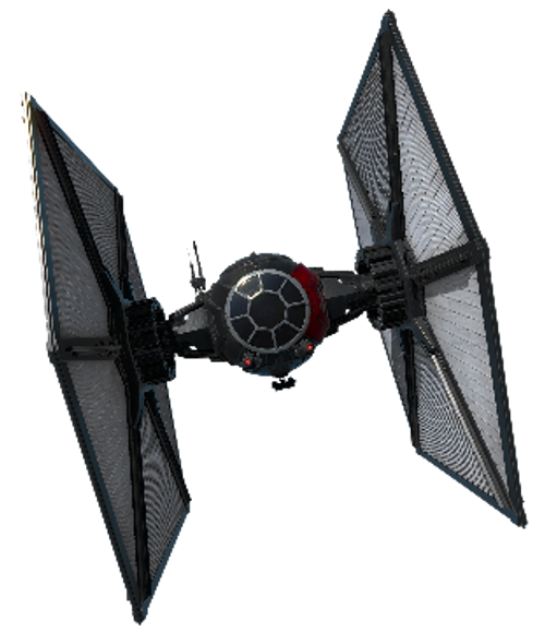 1/72 First Order Special Forces TIE Fighter - MASK For Bandai Kit
