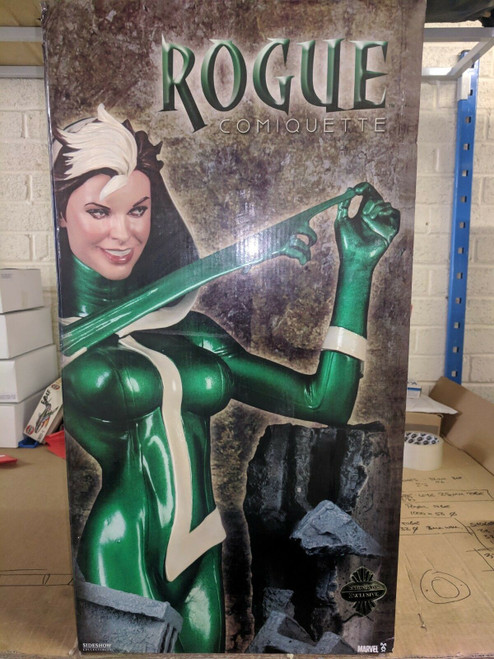 RARE Sideshow Collectibles Marvel Max Rogue Comiquette LTD ED Statue  0920/1000