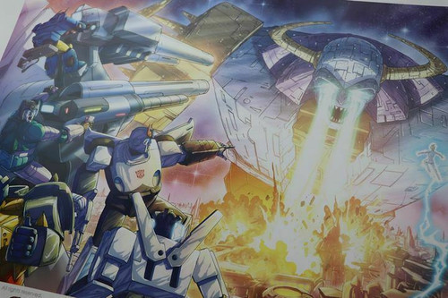 RARE Transformers Lighting The Darkest Hour Limited edition Art print # 0 / 200