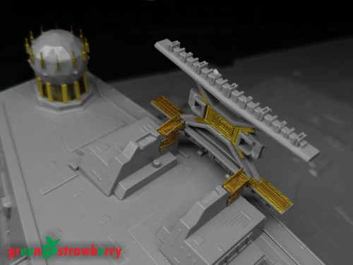 Green Strawberry 1/2700 Zvezda/Revell Star Destroyer Photoetch Detailing Set