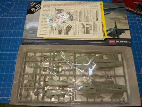 Academy Model Aircraft M-23S Flogger B 1/72 Scale NEW contents Sealed