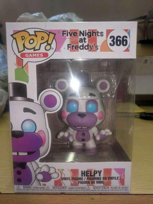 Funko Pop Five Nights at Freddy's 6 Pizza Sim Helpy #366
