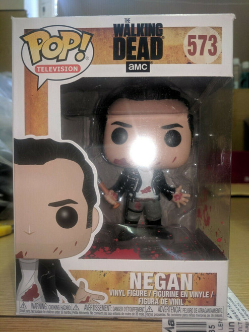 The Walking Dead Negan Vinyl Figure 573 Funko Pop! Ex Shop Stock