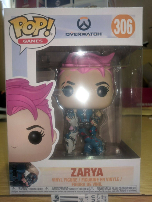 Funko POP! Games - Overwatch #306 Zarya BNIB Ex Shop Stock