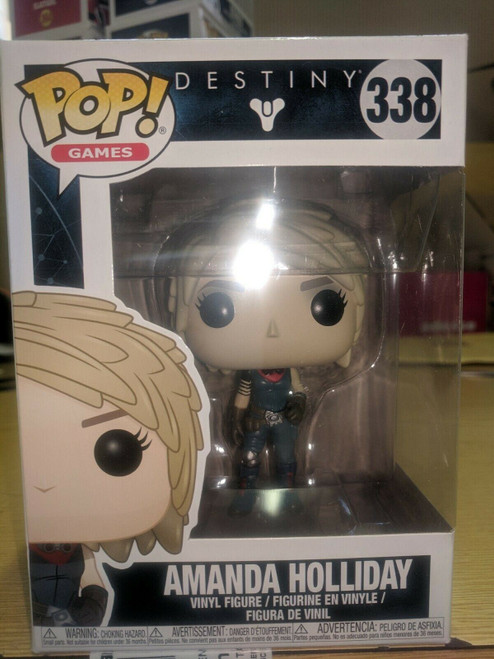 Funko Pop 338 Destiny Amanda Holliday Brand new minor crease to box