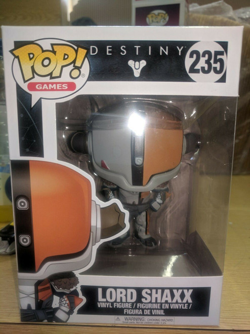 POP! Vinyl Games: Destiny - Lord Shaxx #235 BNIB