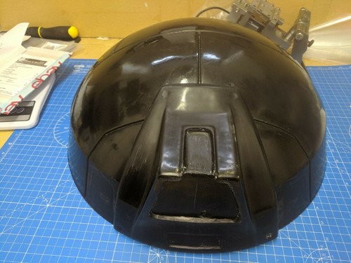 Life Size Fibreglass Dome and Cowl for NSD style Kelad