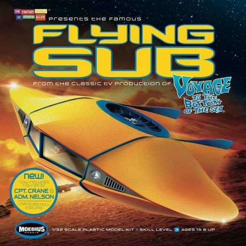 Moebius MMK817 1/32 Voyage to The Bottom of The Sea Flying Sub