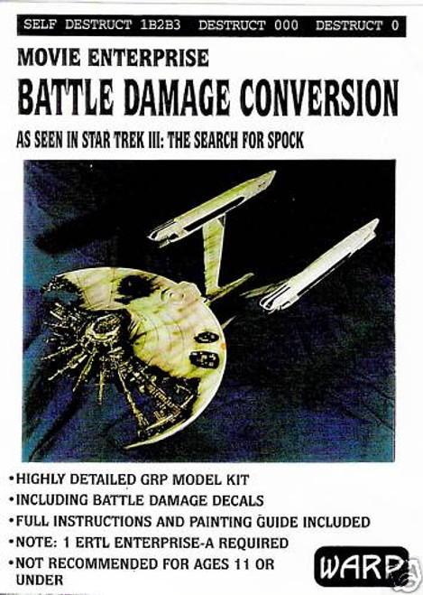 Warp Models - ENTERPRISE BATTLE DAMAGE Conversion Kit
