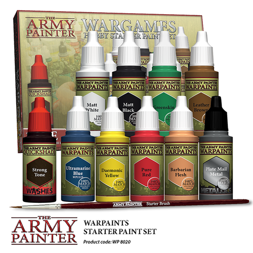Army Painter WP8020 - Warpaints Starter Paint Set