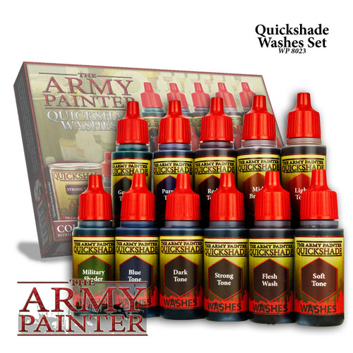 Army Painter WP8023 - Quickshade Washes Set