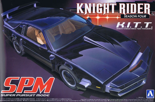 Aoshima 04355 - 1/24 Season 4 Knight Rider K.I.T.T SPM (Super Pursuit Mode)