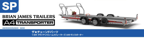 Aoshima 05260 - 1/24 BRIAN JAMES TRAILERS A4 TRANSPORTER