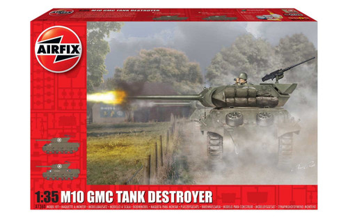 Airfix A1360 - 1/35 M10 GMC Tank Destroyer (U.S. Army)