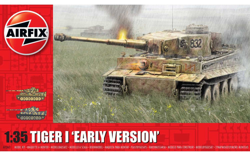 Airfix A1363 - 1/35 Tiger-1, Early Version