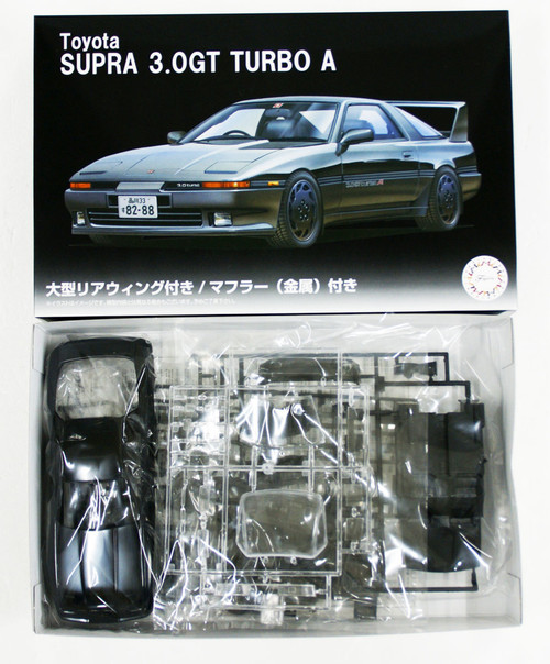 Fujimi 04610 - 1/24 SUPRA 3.0GT TURBO A (LARGE REAR WING VERSION)